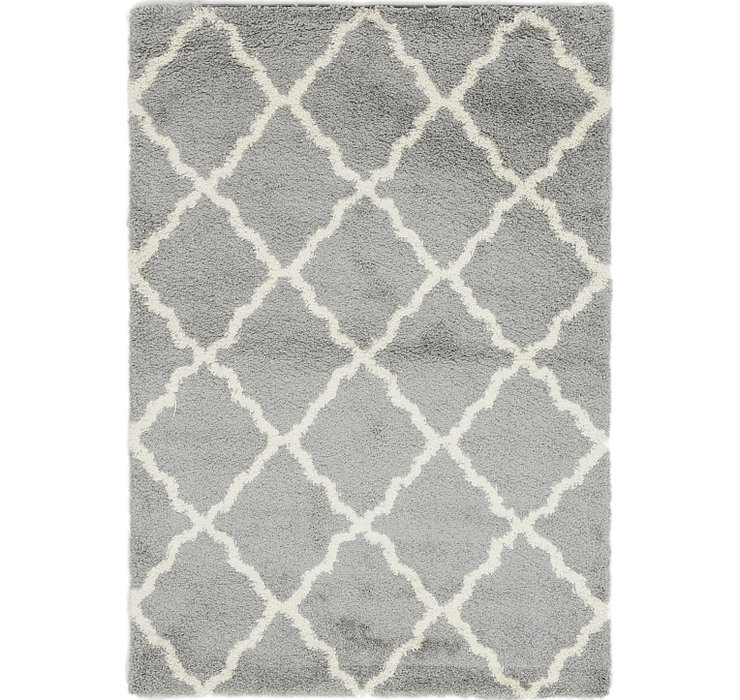 5' 3 x 7' 8 Luxe Solid Shag Rug