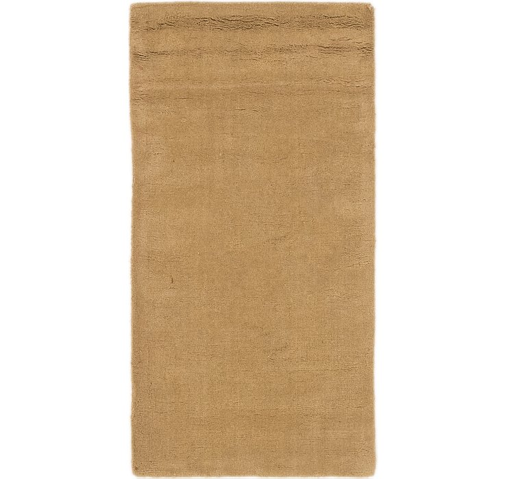 2' 4 x 4' 7 Indo Gabbeh Rug