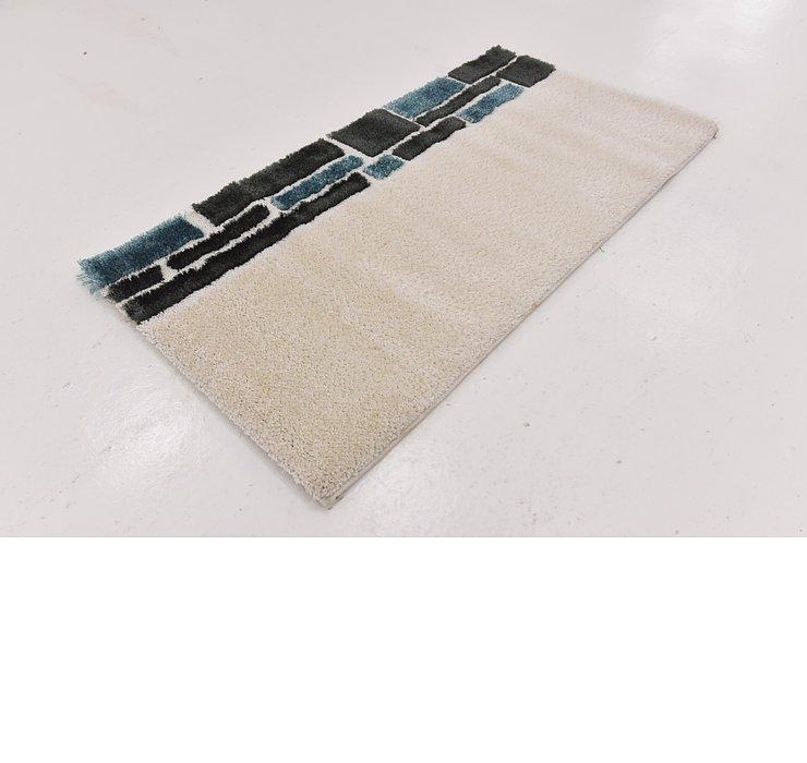 80cm x 147cm Textured Shag Rug