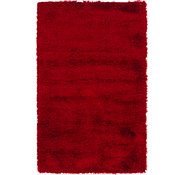 Link to 100cm x 160cm Luxe Solid Shag Rug