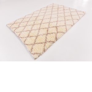 Link to 163cm x 230cm Luxe Trellis Shag Rug item page