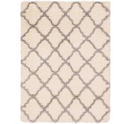 Link to 160cm x 230cm Luxe Trellis Shag Rug