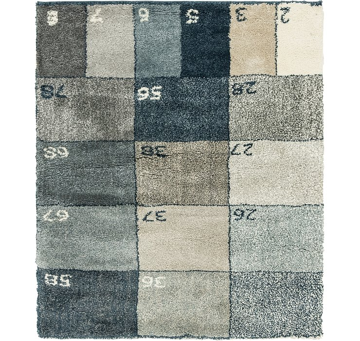 5' 2 x 6' Play Time Square Rug