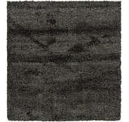 Link to 160cm x 168cm Solid Shag Square Rug