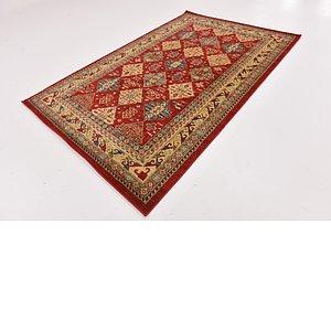 Link to 152cm x 245cm Kashkuli Gabbeh Rug item page