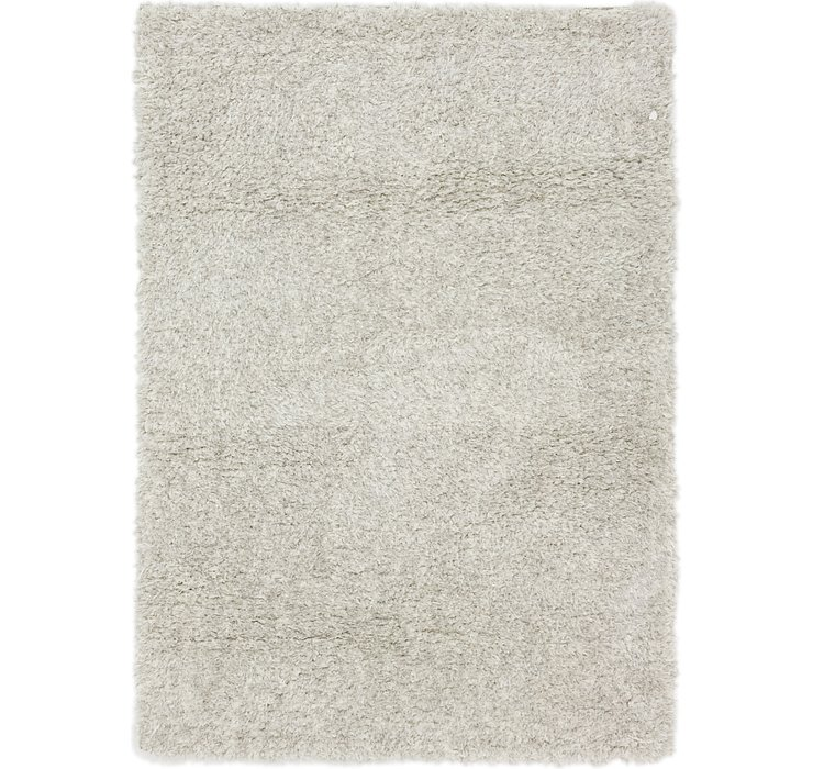 5' 3 x 7' 5 Luxe Solid Shag Rug