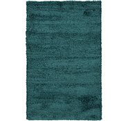 Link to 155cm x 245cm Solid Shag Rug