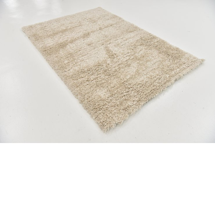 5' 5 x 7' 6 Luxe Solid Shag Rug