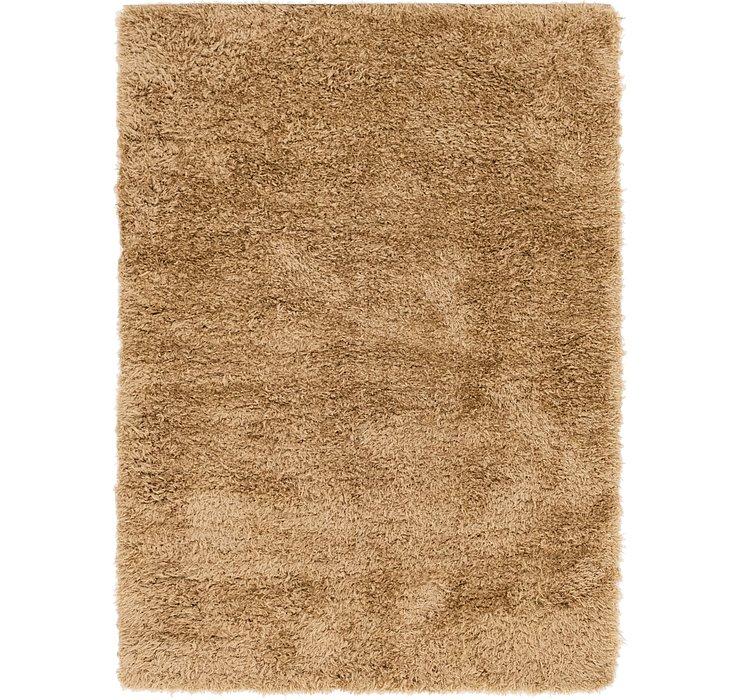 5' 5 x 7' 4 Luxe Solid Shag Rug