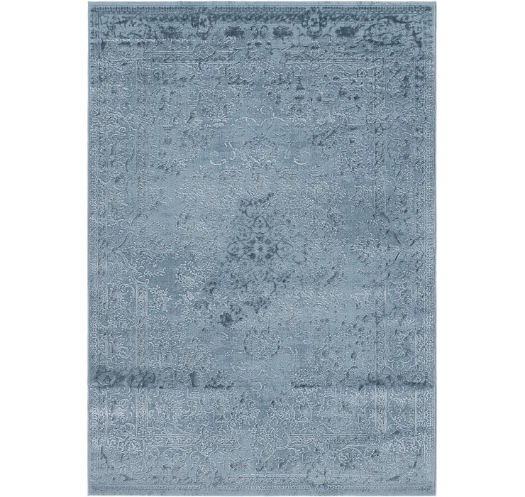 5' 3 x 7' 8 Carved Aubusson Rug