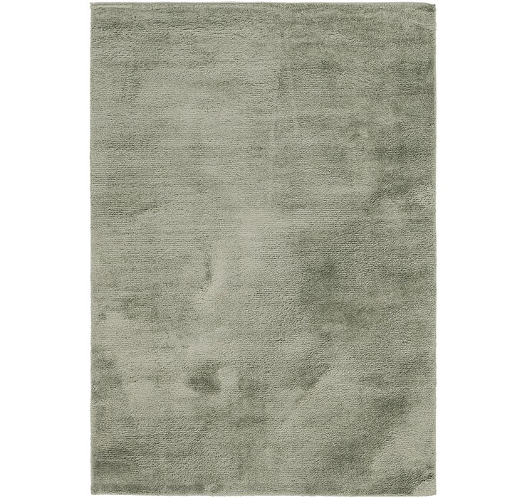 5' 3 x 7' 7 Luxe Solid Shag Rug