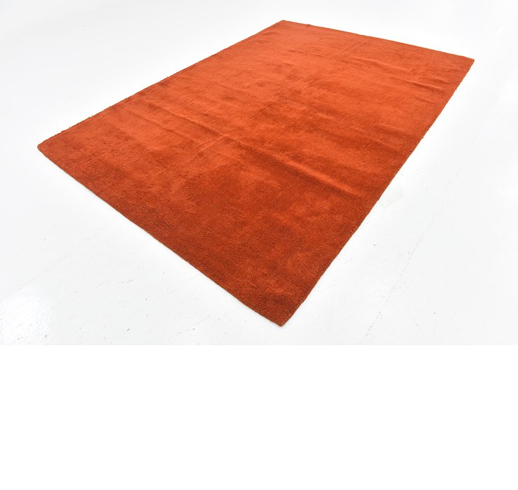 6' 5 x 9' 4 Reproduction Gabbeh Rug