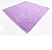 Link to 250cm x 250cm Solid Shag Square Rug