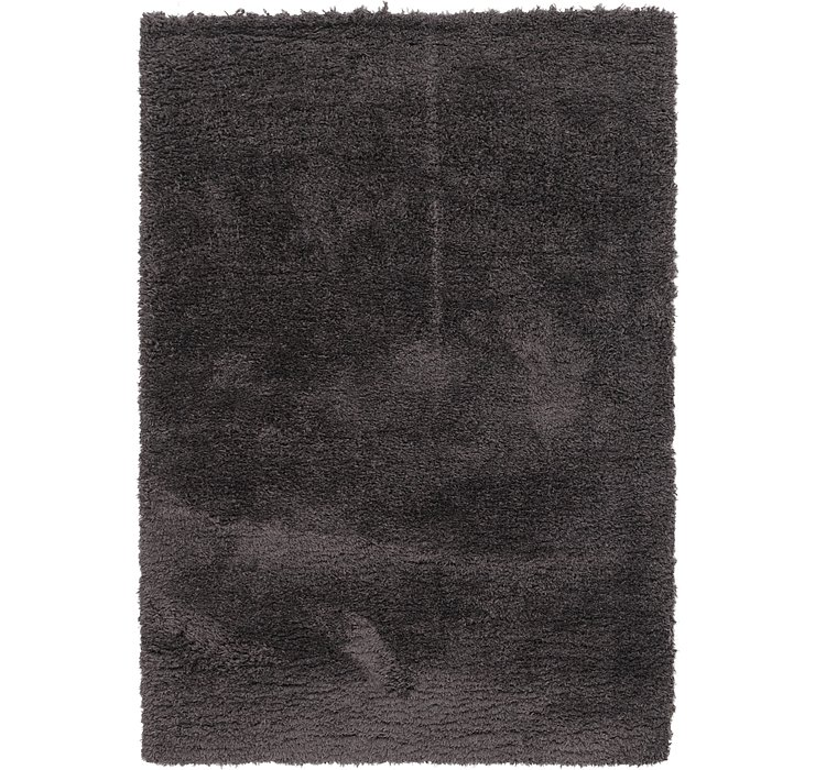 5' 4 x 7' 5 Luxe Solid Shag Rug