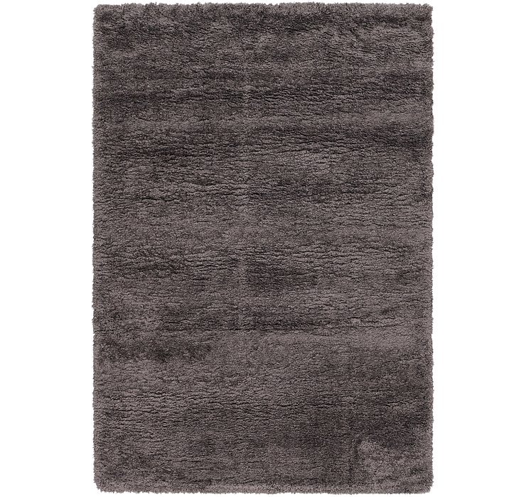 160cm x 225cm Luxe Solid Shag Rug