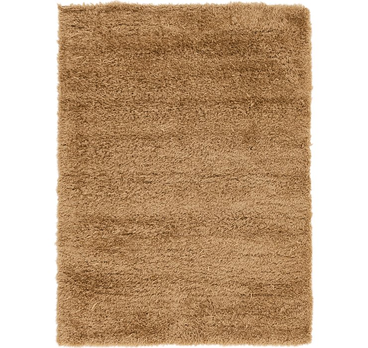 5' 4 x 7' 4 Luxe Solid Shag Rug