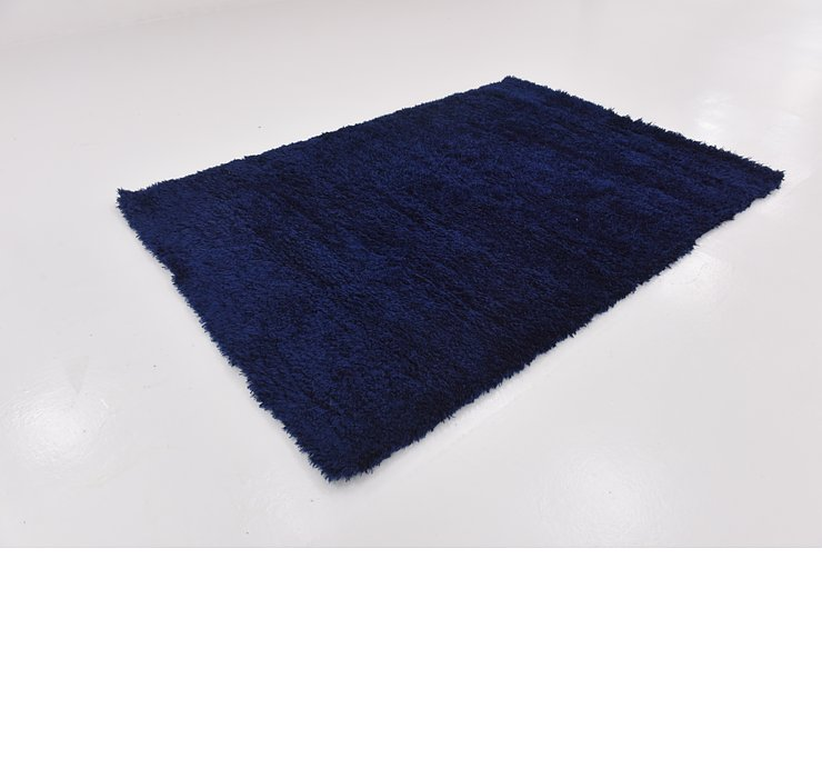 5' 4 x 7' 6 Luxe Solid Shag Rug