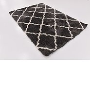 Link to 165cm x 235cm Luxe Trellis Shag Rug