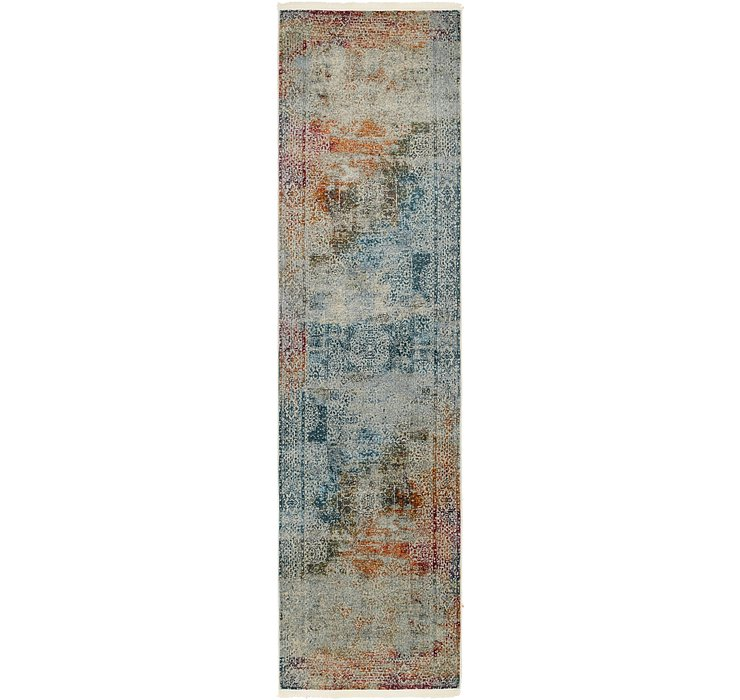 2' 6 x 10' Chesterfield Runner Rug