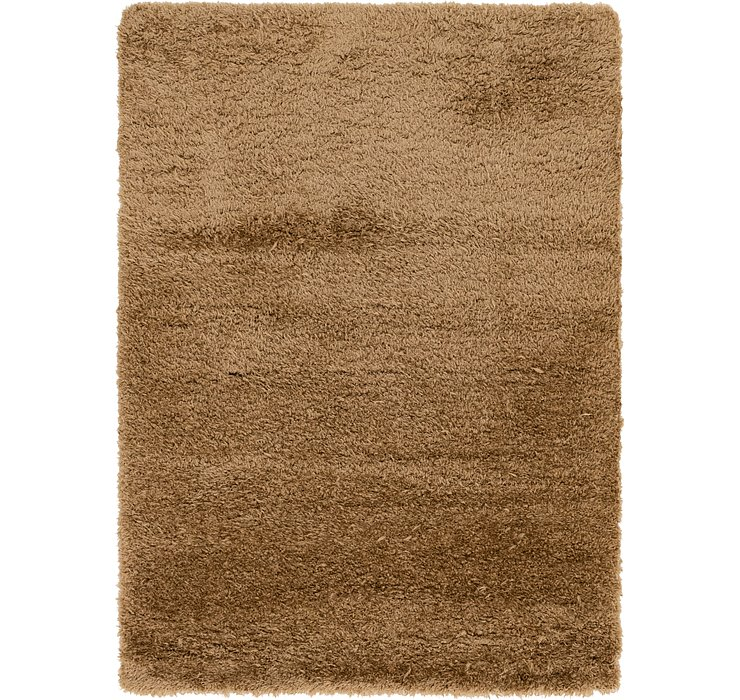 5' 5 x 7' 5 Luxe Solid Shag Rug