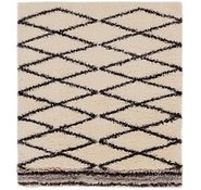 Link to 165cm x 183cm Marrakesh Shag Square Rug