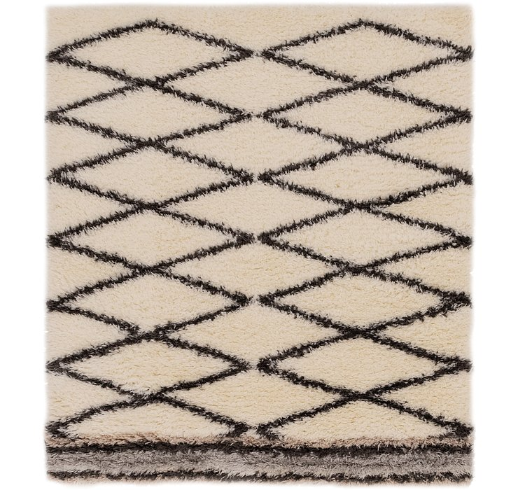 165cm x 183cm Marrakesh Shag Square Rug