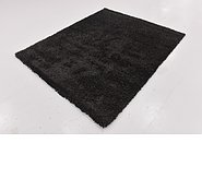 Link to 160cm x 195cm Solid Shag Square Rug
