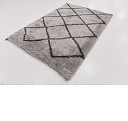 Link to 163cm x 235cm Luxe Trellis Shag Rug