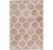 Link to 160cm x 235cm Luxe Trellis Shag Rug
