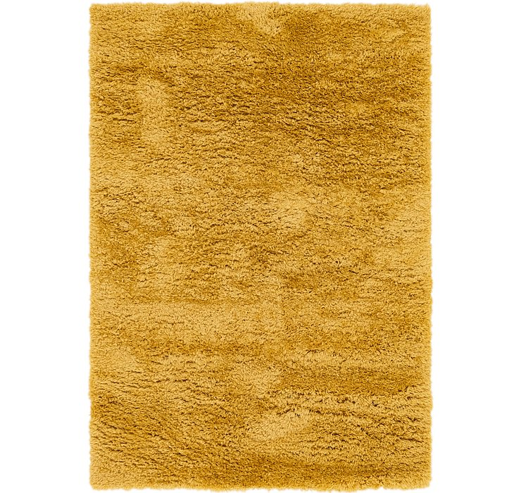 5' 4 x 7' 8 Luxe Solid Shag Rug