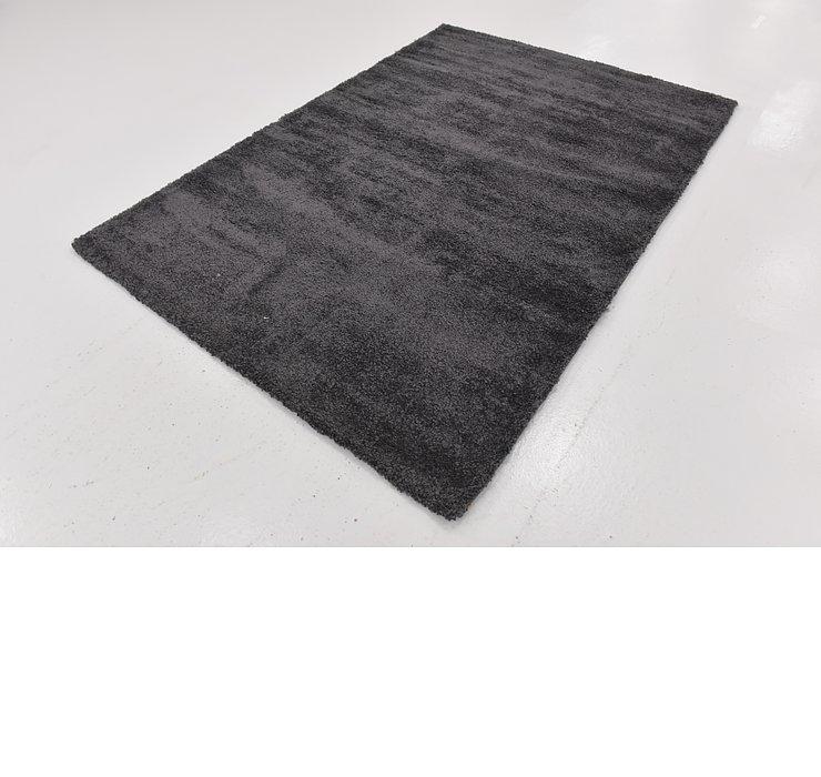 5' 4 x 7' 7 Solid Shag Rug