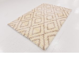 Link to 163cm x 235cm Luxe Trellis Shag Rug item page
