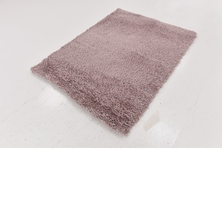 4' x 5' 4 Luxe Solid Shag Rug