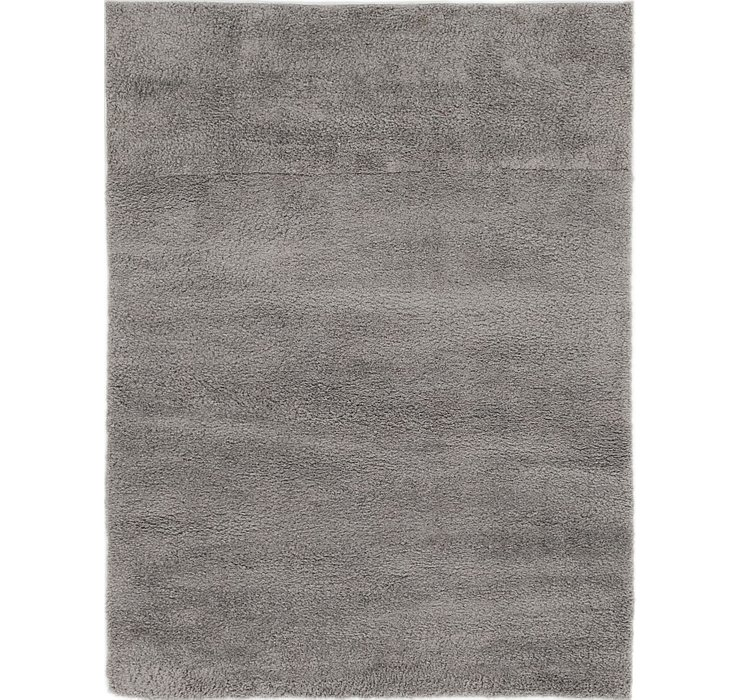 4' x 5' 3 Luxe Solid Shag Rug