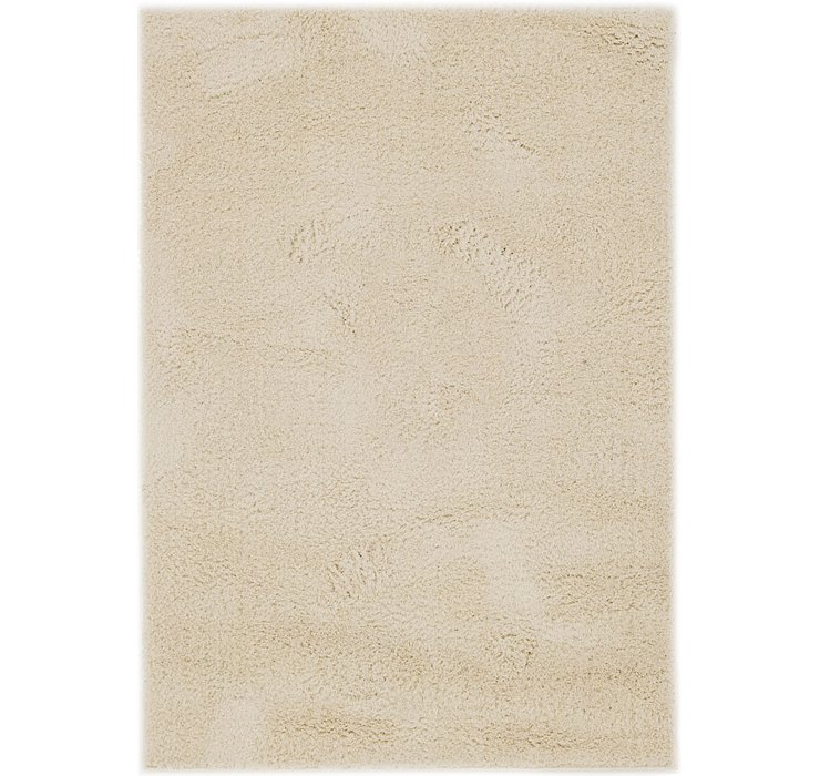3' 10 x 5' 5 Luxe Solid Shag Rug