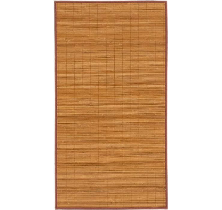 2' 4 x 4' 4 Bamboo Rug