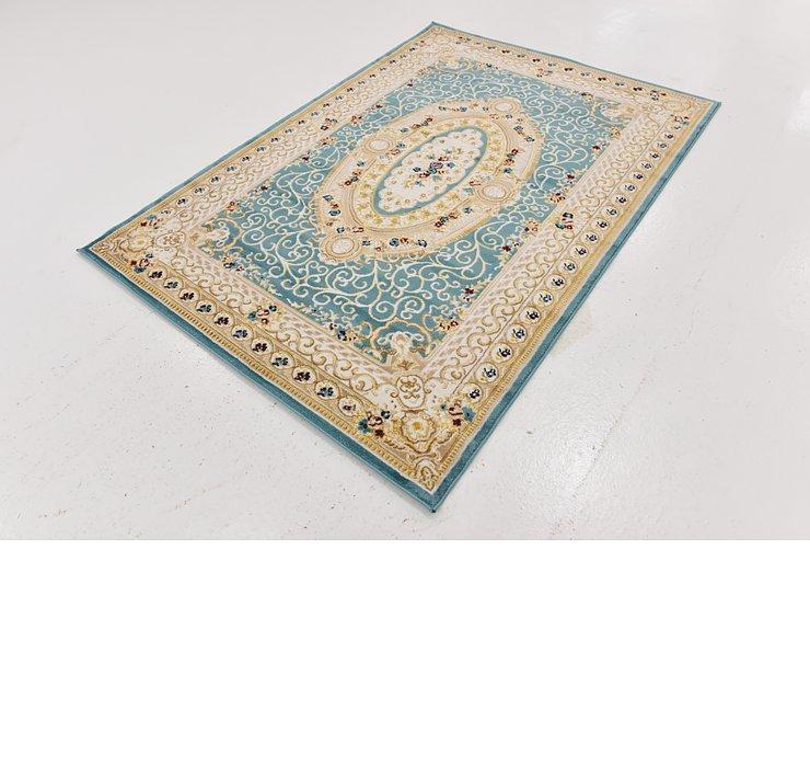 4' 8 x 6' 6 Tabriz Design Rug