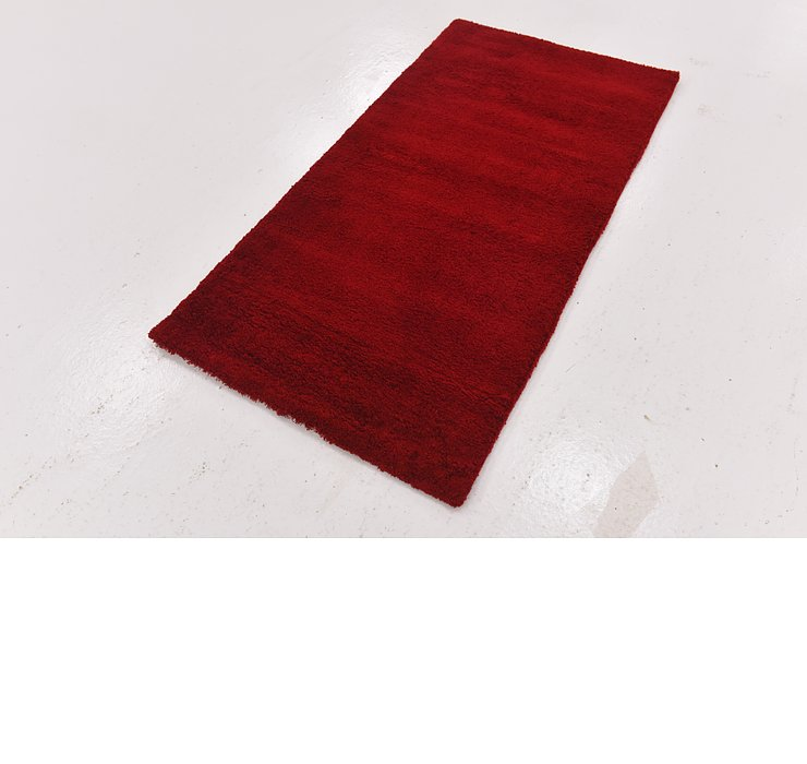 2' 7 x 5' Luxe Solid Shag Rug