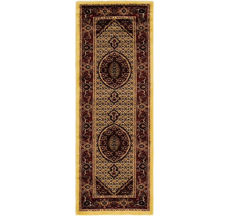 2' 8 x 7' 7 Tabriz Design Runner Rug