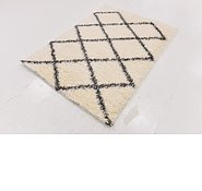 Link to 122cm x 165cm Luxe Trellis Shag Rug