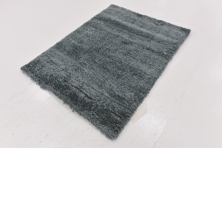 4' x 5' 2 Luxe Solid Shag Rug