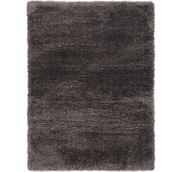 4' x 5' 5 Luxe Solid Shag Rug