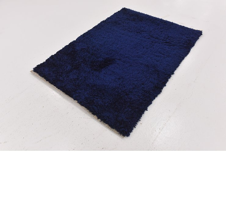 4' x 5' 7 Luxe Solid Shag Rug
