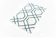 Link to 80cm x 122cm Luxe Trellis Shag Rug