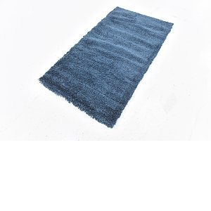 Link to 80cm x 145cm Solid Shag Rug item page