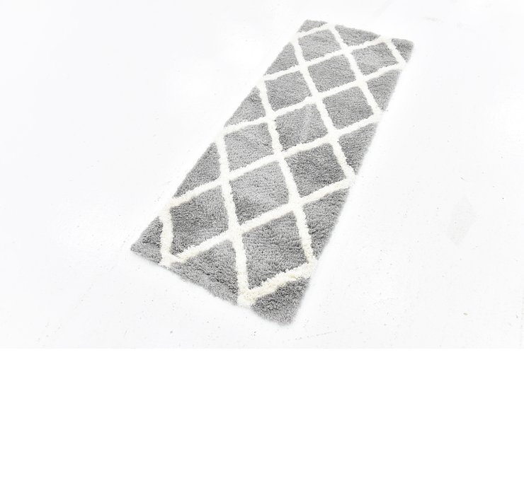 90cm x 152cm Luxe Trellis Shag Rug