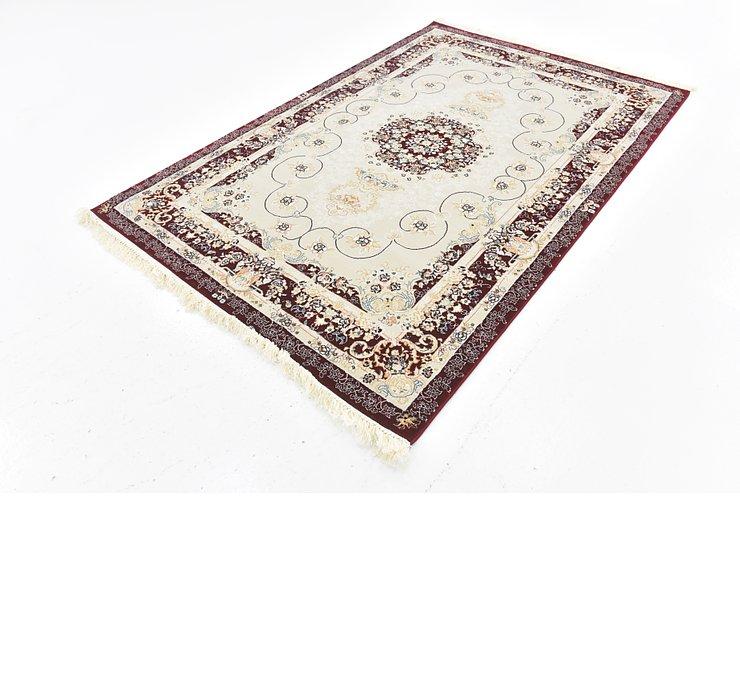 5' x 7' 8 Tabriz Design Rug