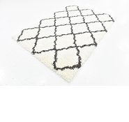 Link to 165cm x 230cm Luxe Trellis Shag Rug