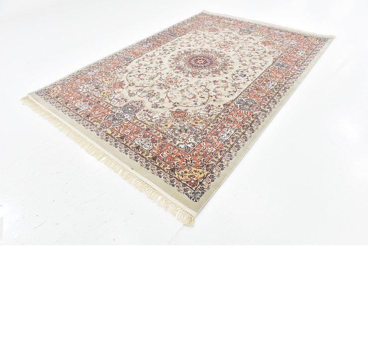 6' 7 x 9' 7 Tabriz Design Rug
