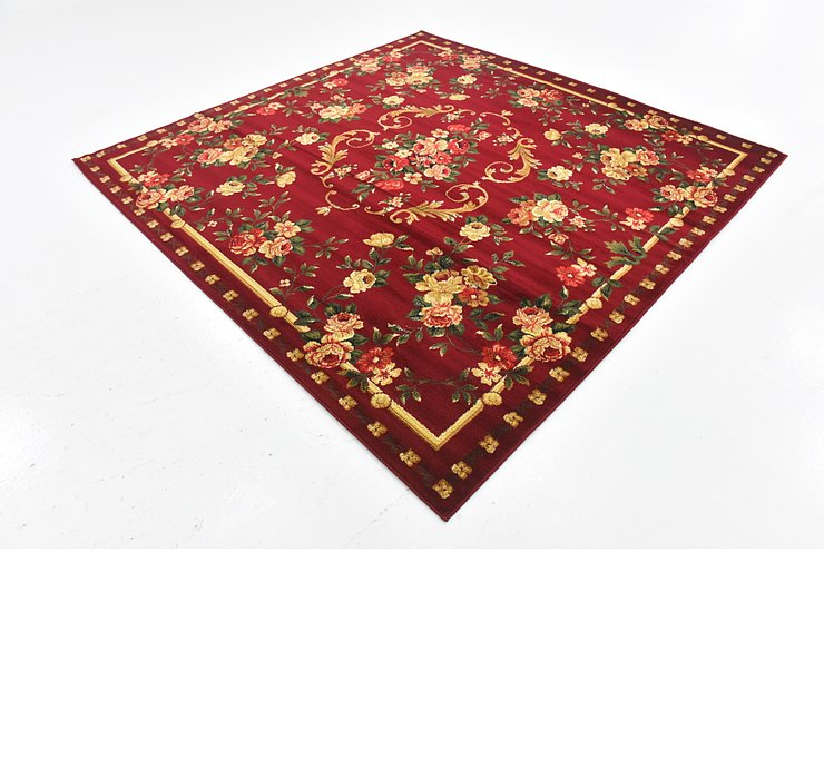 7' 5 x 7' 6 Country Square Rug